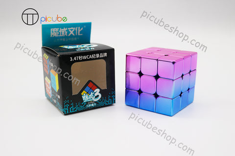 Picube Eclipse MeiLong 3x3 Metal Gradient Purple-Blue