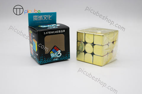 Picube Eclipse MeiLong 3x3 Metal Golden