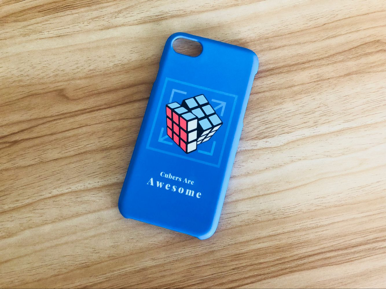 iPhone Case Solved 3x3