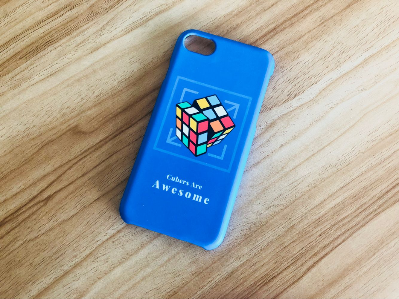 iPhone Case Unsolved 3x3