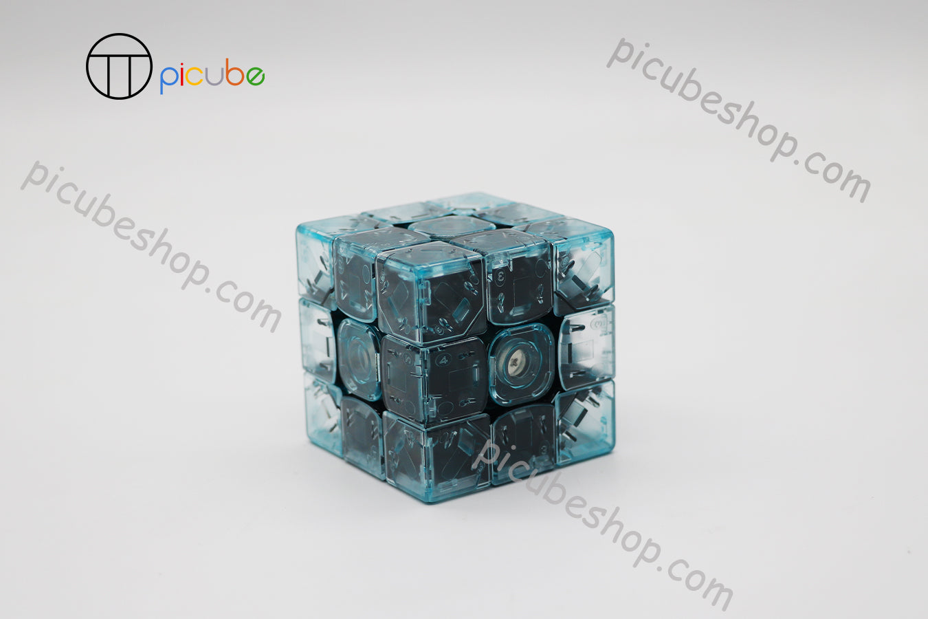 Picube Eclipse TengYun M Transparent Gem Green 3x3
