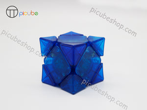 Picube Eclipse Wingy Skewb Transparent Blue