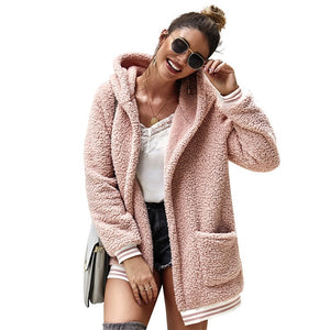 Madison Teddy Long Hooded Coat
