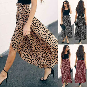 Asymmetric  Juliette Maxi Skirt