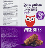 Oat & Quinoa Chocolate Chip Bars (GF, Vegan, Nut-Free, Kosher) - Case Only