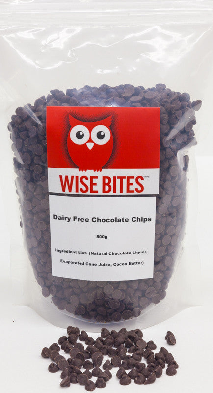 Dairy Free Chocolate Chips 500g