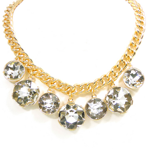 Cascading Necklace- Gold