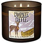 Bath And Body Works 2018 Holiday Limited Edition 3-Wick Candle (Campsite Coffee)