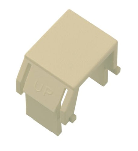 On-Q Wp3455La Blank Keystone Insert, Light Almond