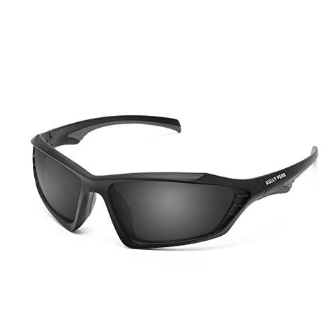 Aully Park Polarized Sports Sunglasses For Men Women Fishing Driving Cycling Golf Baseball Running - Tr90 Unbreakable Frame, Fda Approved