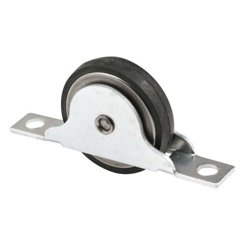 Prime-Line Products N 6688 Closet Door Roller With 1-3/8-Inch Flat Neoprene Ball Bearing Wheel