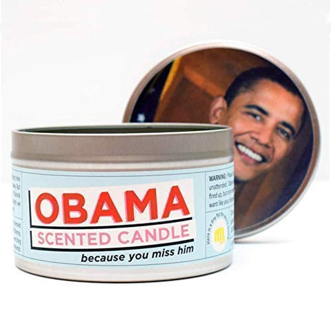 Jd And Kate Industries Obama-Scented Candle | Hand-Poured In 16 Oz Tin | Almond, Coconut And Pineapple Scent