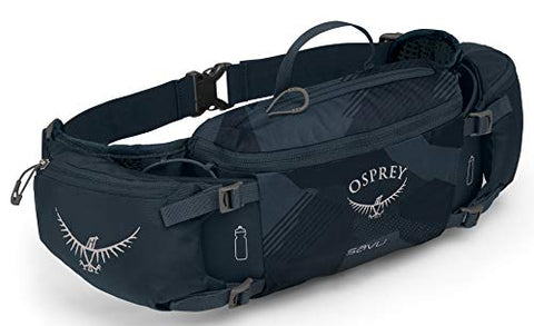 Osprey Packs Savu Lumbar Hydration Pack, Slate Blue