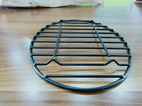 Gourmex Oval Roasting Rack With Integrated Feet, Black, Non-Stick Whitford  Coating, Ptfe Free, Oven And Dishwasher Safe  Ideal For Cooking, Roasting,
