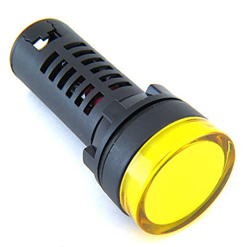 Yuco Box Of 10 Yc-22Y-5 European Standard Tuv Ce Listed 22Mm Led Panel  Mount Indicator Lamp Yellow 480V Ac