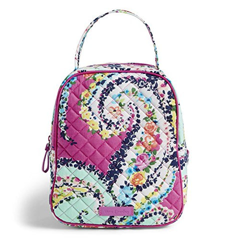 Vera Bradley Iconic Lunch Bunch, Signature Cotton Wildflower Paisley