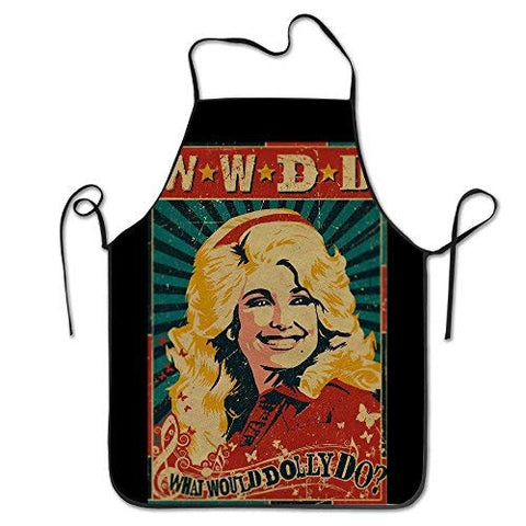 Bib Kitchen Apron Dolly Parton What Would Dolly Do