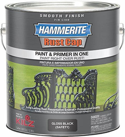 Masterchem Industries 46240 Smooth Gallon Paint, Black