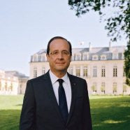 Cravate de François Hollande