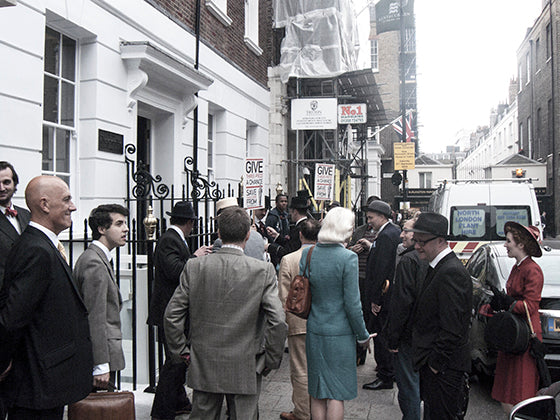 Savile Row manifestation