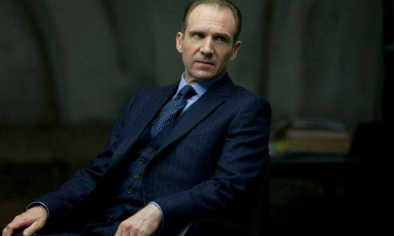 Ralph Fiennes dans James Bond