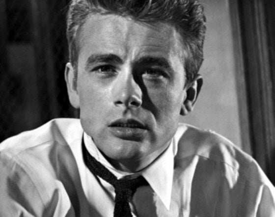 James Dean Cravate noire