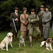 Downton Abbey chasse