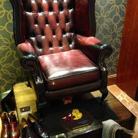 Shoeshine Hilton Park Lane
