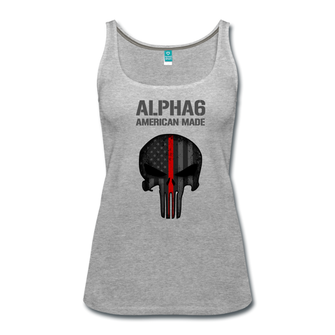 Alpha 6 Women's Tank - heather gray
