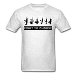 Right to Choose - light heather grey