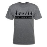 Right to Choose - mineral charcoal gray