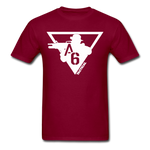A6 Men's T-Shirt - burgundy