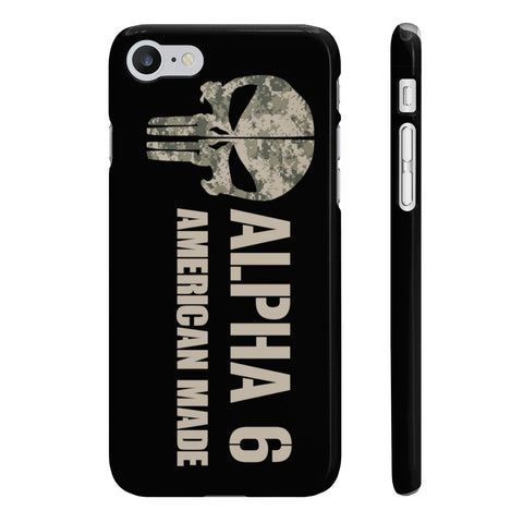 Alpha 6 American Made I Phone Case