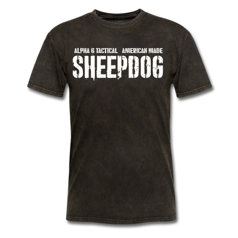 Alpha 6 SheepDog - mineral black