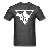 A6 Men's T-Shirt - heather black
