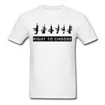 Right to Choose - white