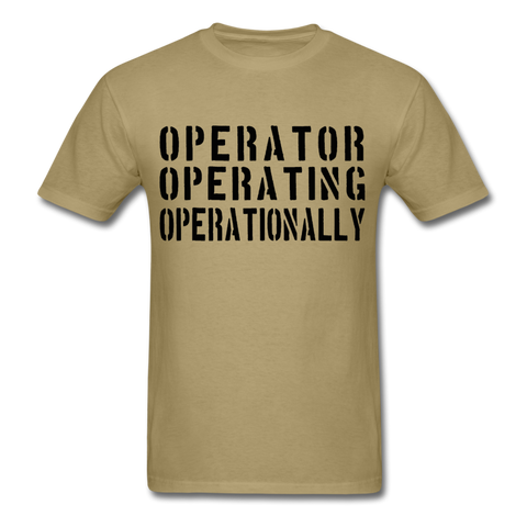 Operators T-Shirt - khaki