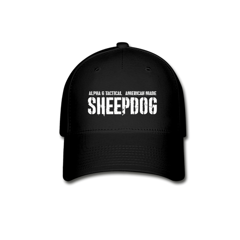 Alpha 6 Sheepdog Hat - black
