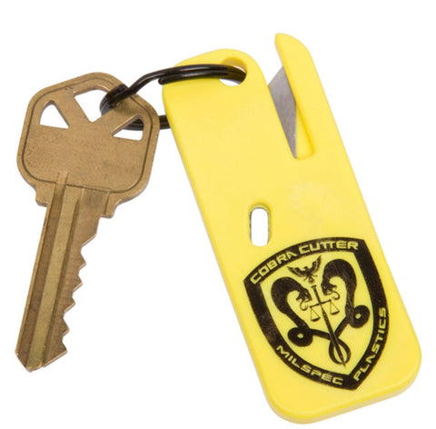 COBRA Cutter, 2.5'' Safety Tool, Keychain