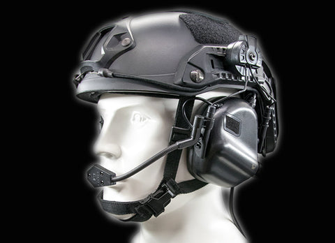 M32H MOD3 Tactical Comm Hearing Protector for Team Wendy Helmets