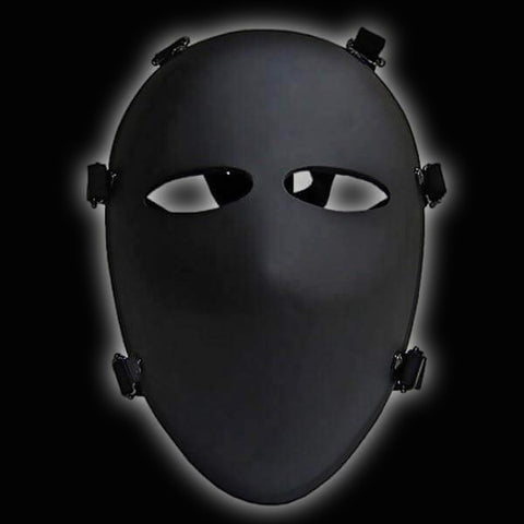Alpha 6 NIJ Level IIIA Ballistic Face Mask