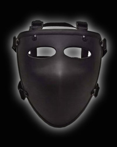 NIJ A6 Level IIIA Ballistic Half Face Mask