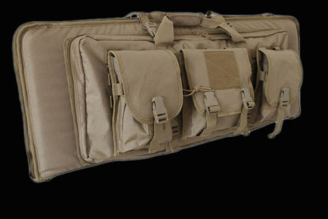 Outdoor MOLLE Deluxe Double Rifle Gun Bag 42 Inches