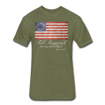 Fck ... Free Men Do Not Kneel - heather military green