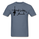 Infidel Men's T-Shirt - denim