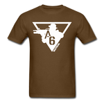 A6 Men's T-Shirt - brown