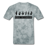 Right to Choose - grey tie dye
