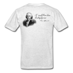 Founding Fathers Collection - Thomas Jefferson - light heather grey