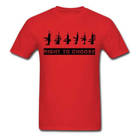 Right to Choose - red