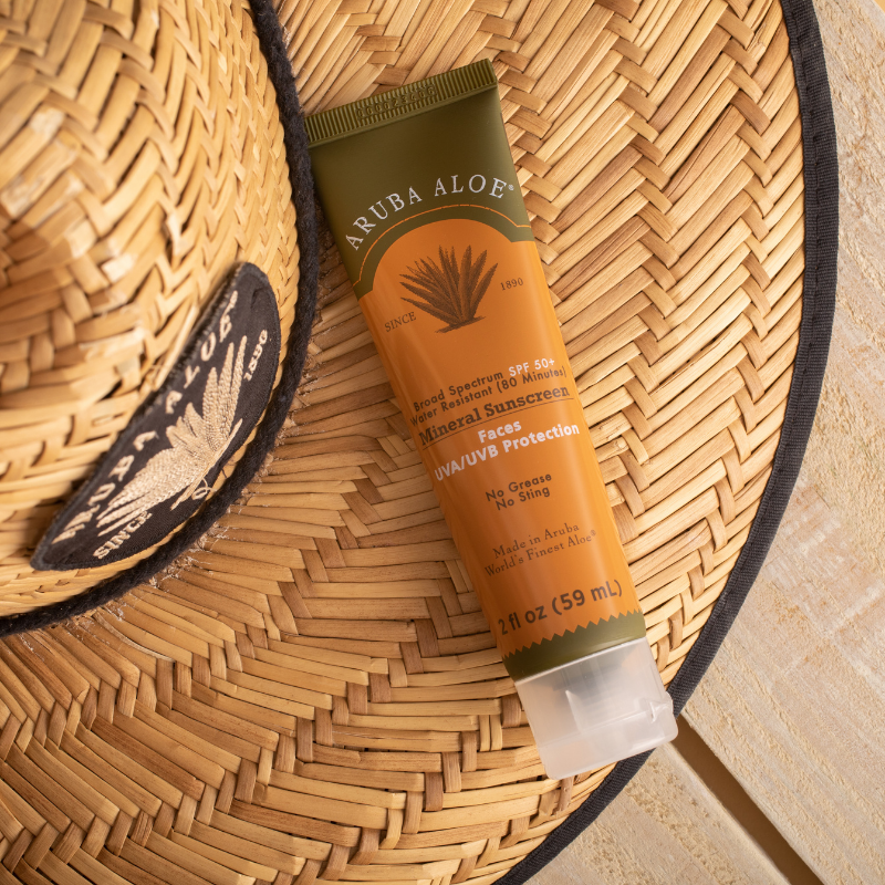 AA Sunscreen Mineral WR FACES SPF 50+ 2oz Tube